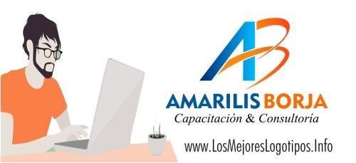 Modelo de logotipo para despacho abogados