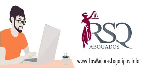 Plantilla de logo para tarjetas de abogados