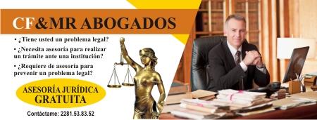 Letrero publicitario para abogado
