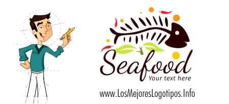 Logo para restaurante de mariscos