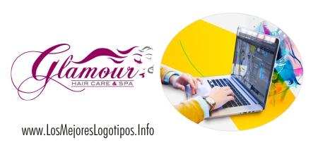 Logos con diseño para salones de belleza
