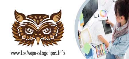 Diseños de logos de buhos para abogados