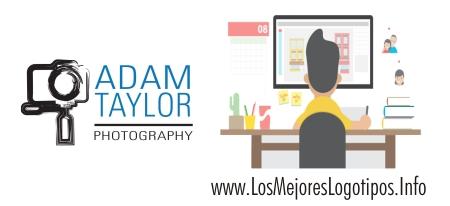 Vector de logos para fotógrafos