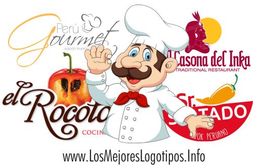 Logotipos de Restaurantes Peruanos