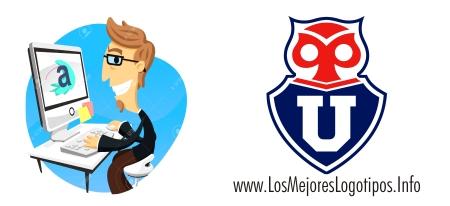 Logotipo del escudo del equipo de futbol Universidad de Chile