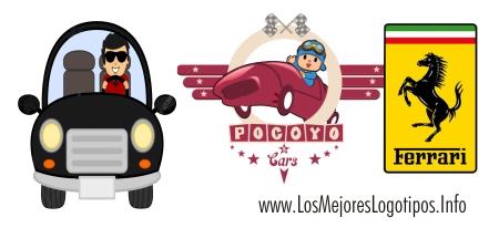 Logotipos para carros de carreras