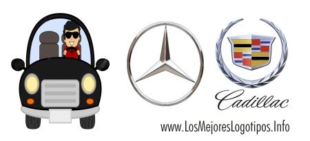 Modelos de logos de autos de lujo