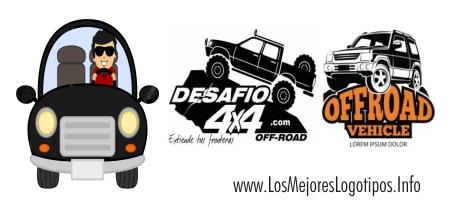 Ejemplos de logos de autos y camionetas