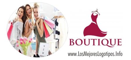 Modelo de logo para boutique